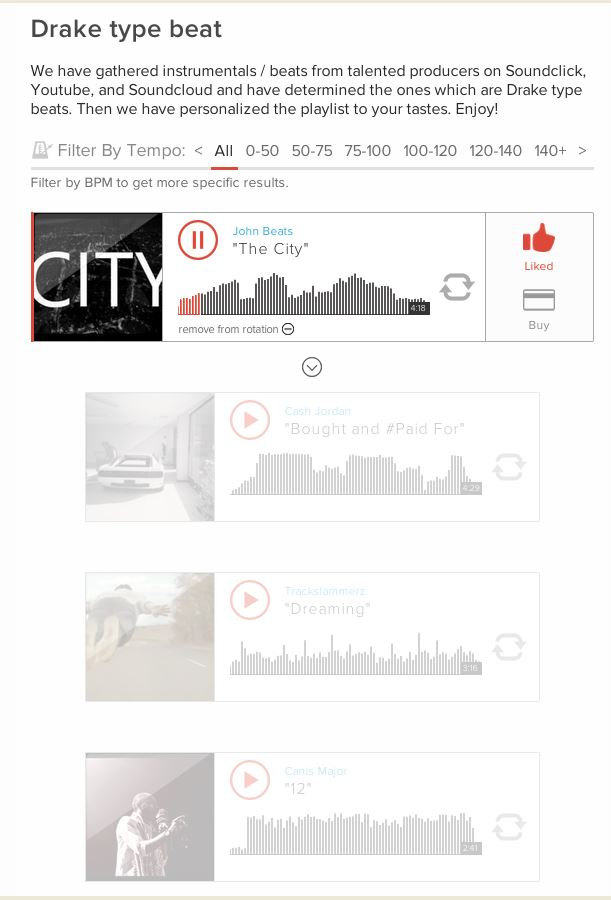 A Journal of Musical ThingsA Search Engine for Beats? Yep  - A