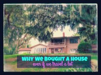 Why we bought a house