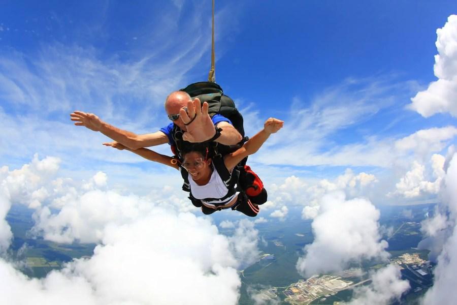 Skydiving in Palatka, FL