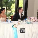 Enjoying everything at the main table