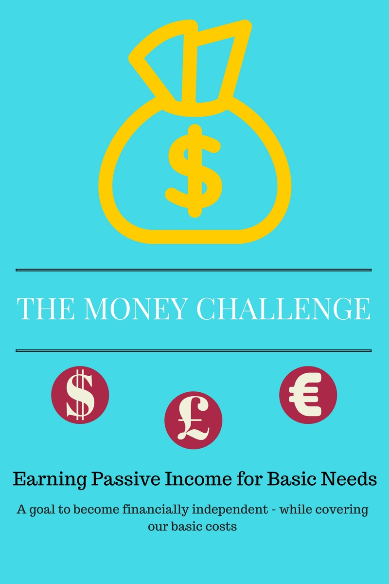 Money Challenge Earning Passive Income for Basic Needs