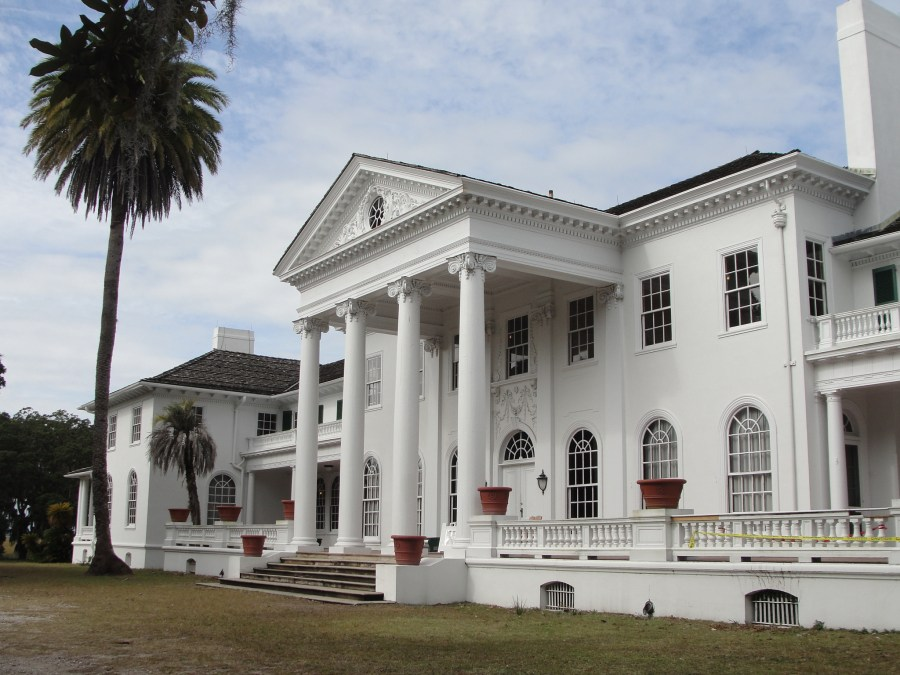 Plum Orchard Mansion in Cumberland Island