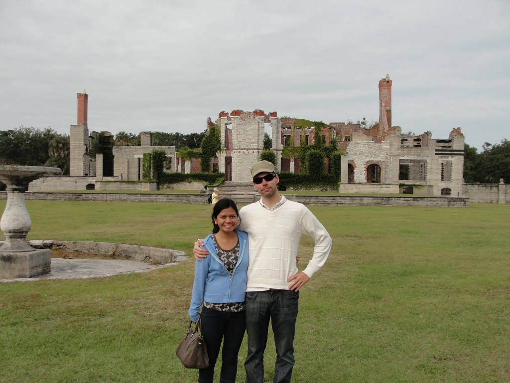 Dungeness Mansion in Cumberland Island, Georgia