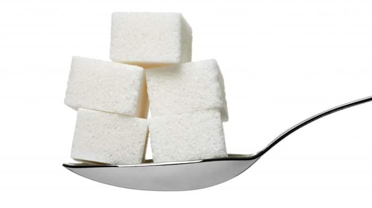 Febfast 2015: sugar cubes on a spoon