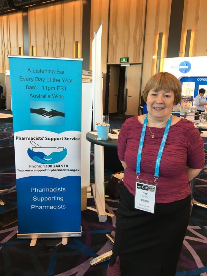Kay Dunkley of the Pharmacists' Support Service
