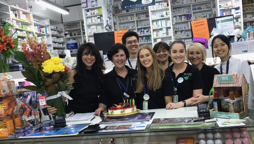 The Balmain Pharmacy team.