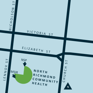 North Richmond MSIC map location
