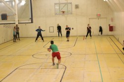 Dodgeball tournament at the Big Gym - last man standing.