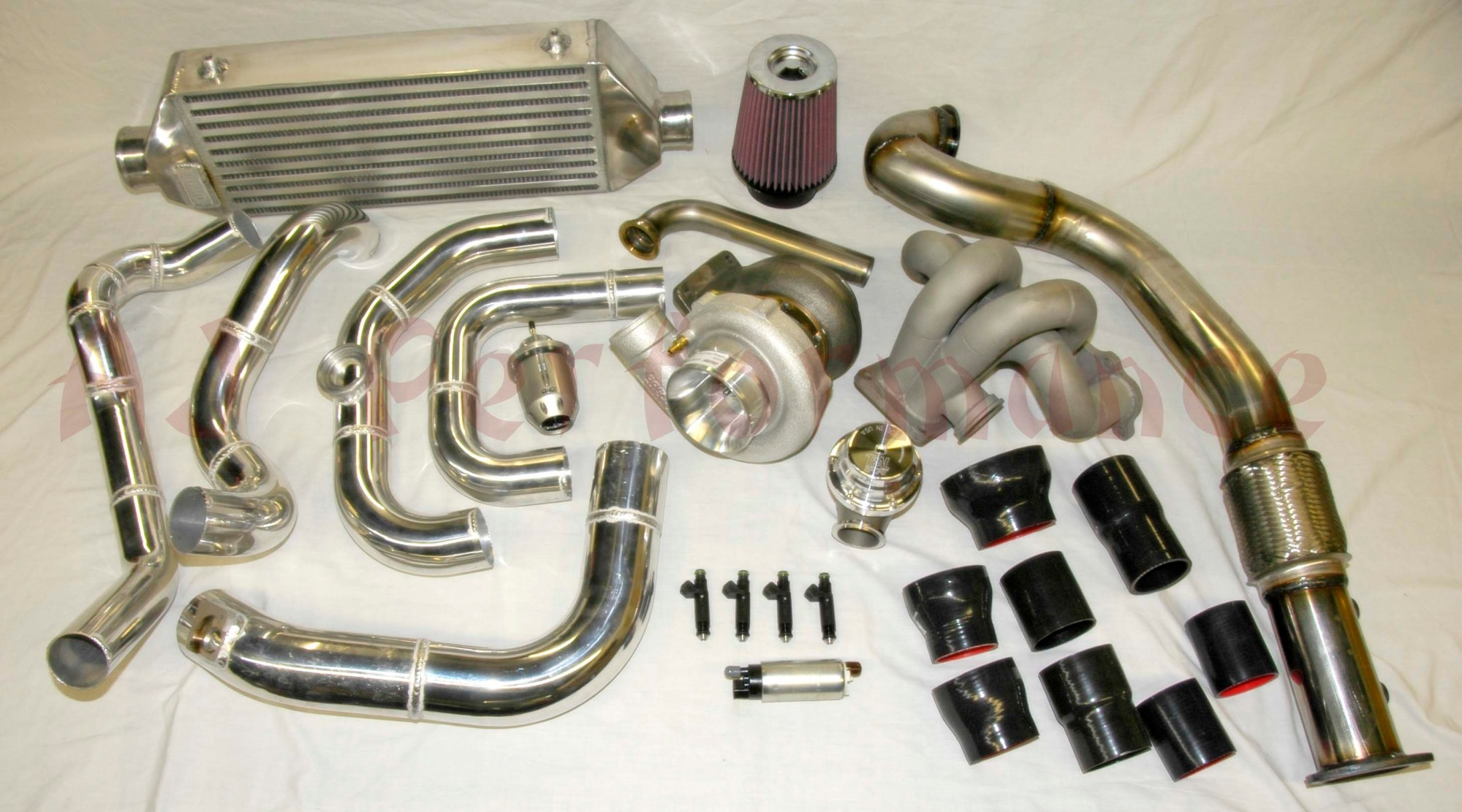 hight resolution of ajp turbo kit for the honda civic si