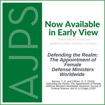 AJPS Early View - Barnes O'Brien
