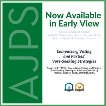Compulsory Voting and Parties' Vote‐Seeking Strategies