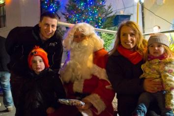 Christmas Light Switch On Patrington