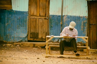 Teacher, Kibera Slum, Nairobi