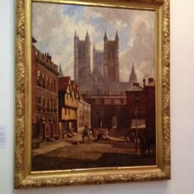 Lincoln Cathedral, Exchequergate and Castle Square, William Losdale, 1904