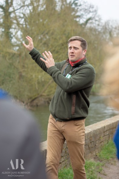 Mark Cable Tour Guide for the National Trust at Flatford