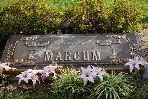 Marcum Gravestone
