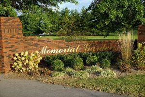 Abundant Life Memorial Gardens Memorial Sign