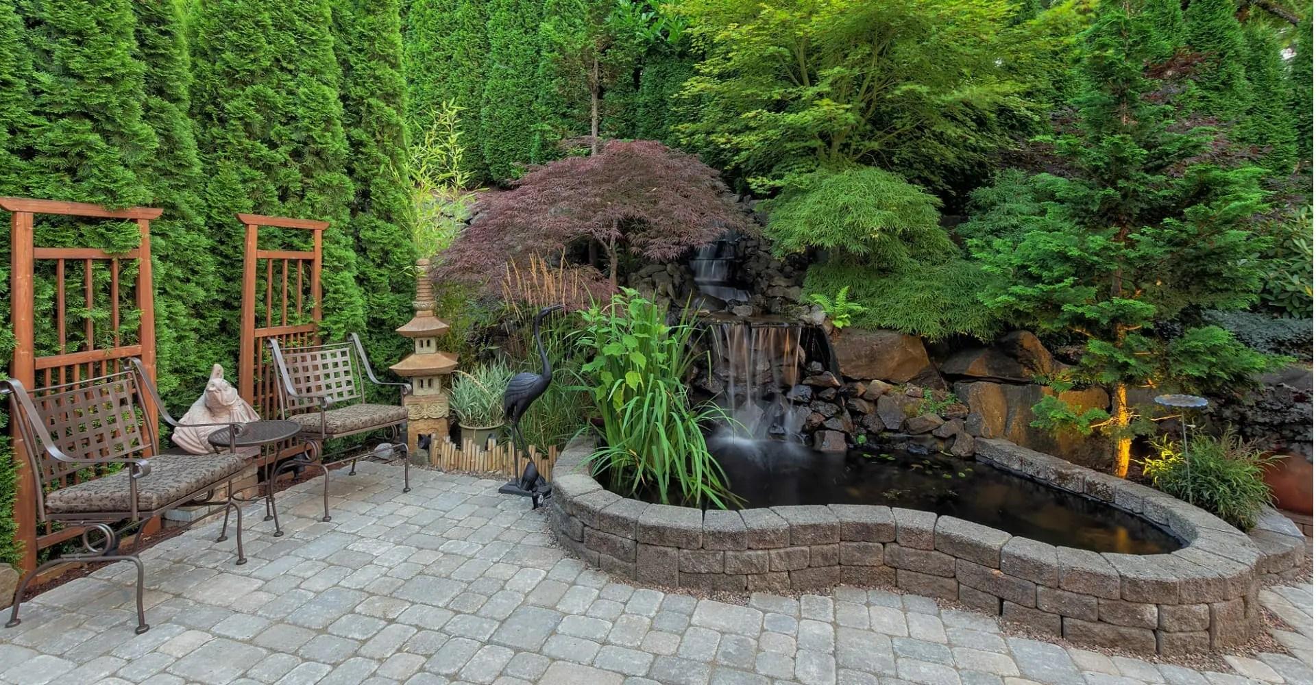 5 patio landscape ideas to liven up