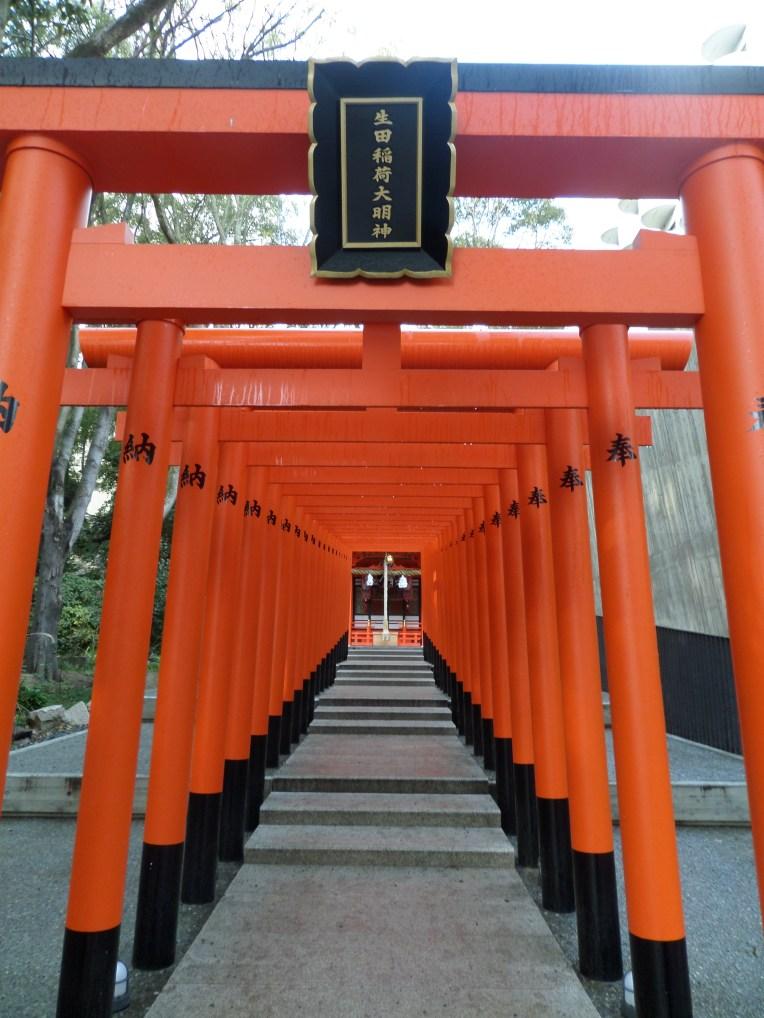 Steps leading to a shrine