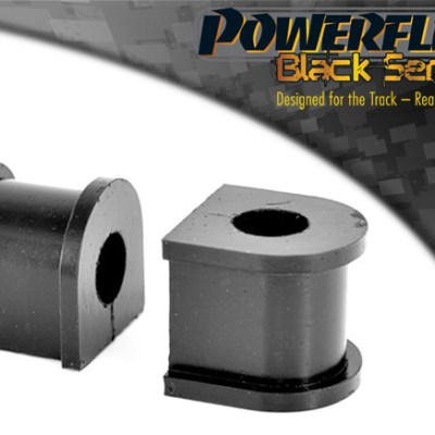 Ford Escort Mk3 & 4, XR3i, Orion All Types (1980-1990) Front Anti Roll Bar Mounting Bush 26mm PFF19-225-26BLK