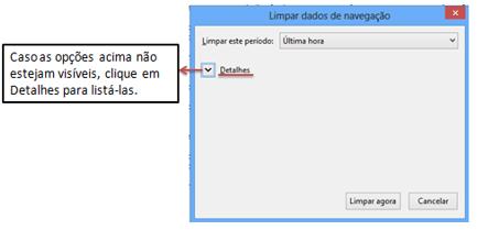 Detalhes Cache no Firefox
