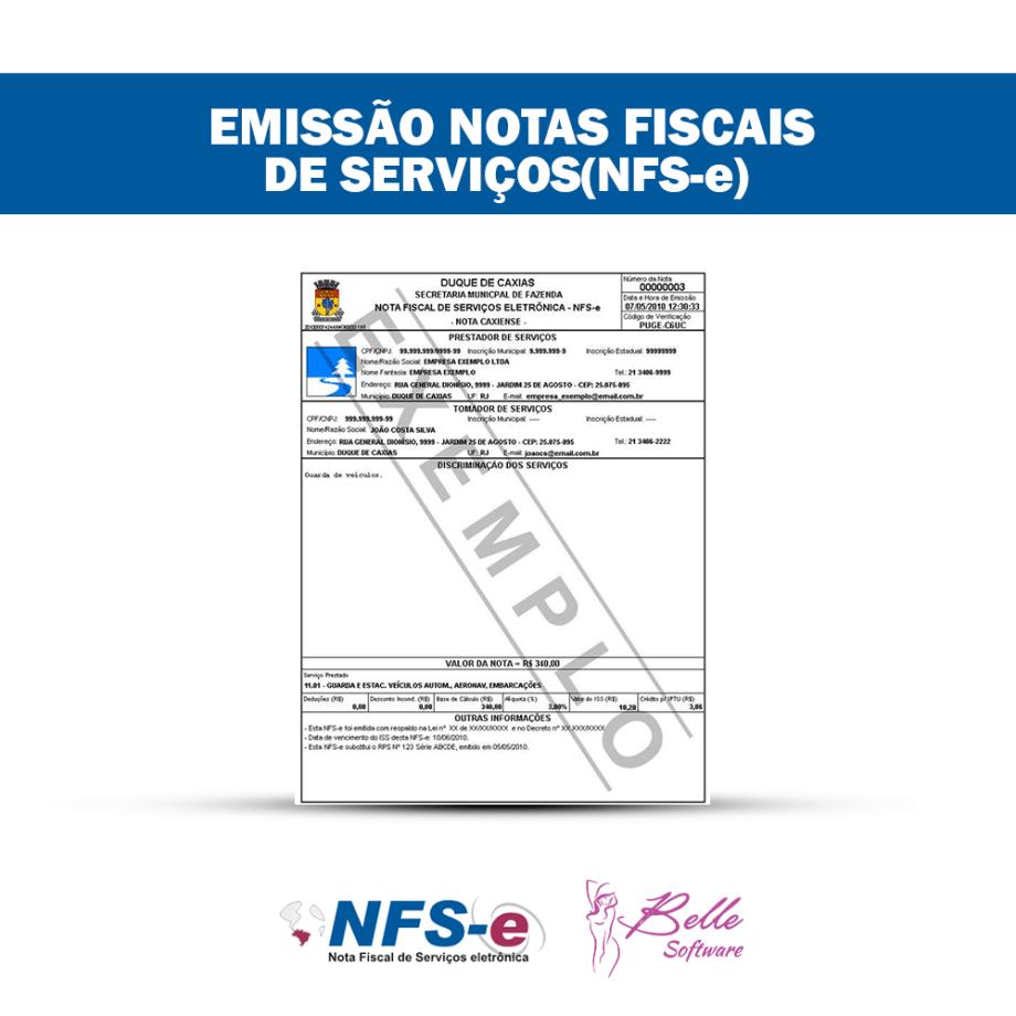 Gerenciamento de NFS-e (Nota Fiscal de Serviços Eletrônica) em Clínicas de Estética