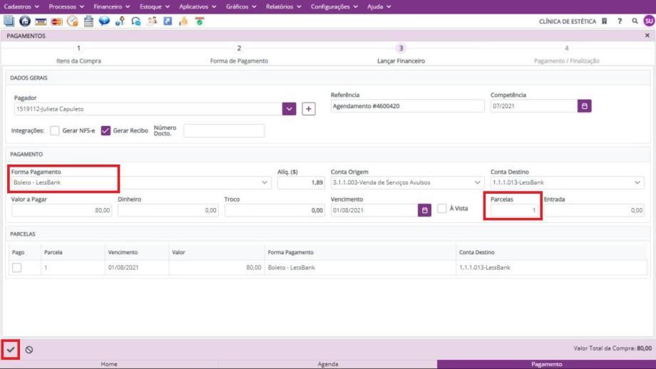 Integração Belle Software e LetsBank
