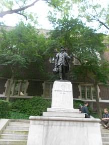 Benjamin Franklin statue at Penn