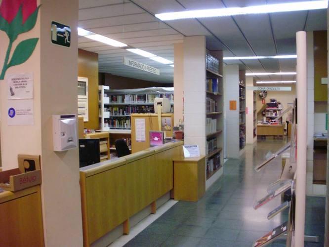 La Biblioteca Lloreda restarà tancada per obres des del 16 de novembre fins al 15 de desembre