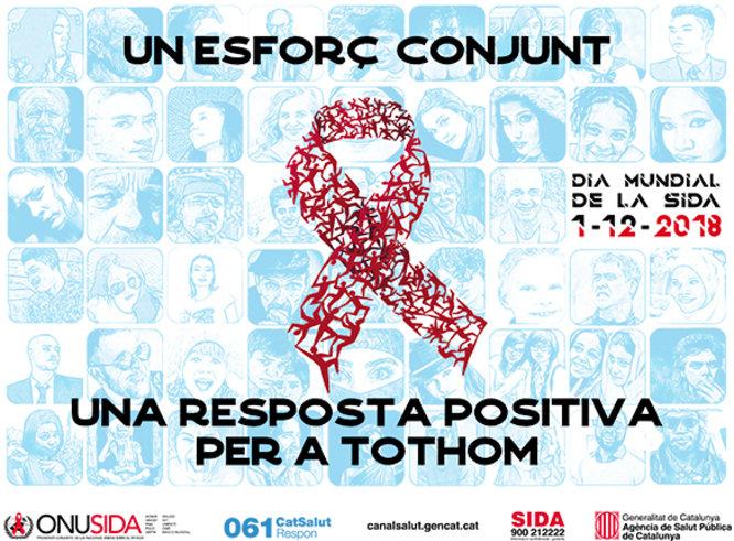 Badalona s'afegeix al manifest conjunt per commemorar el Dia Mundial de la Lluita Contra la Sida l'1 de desembre