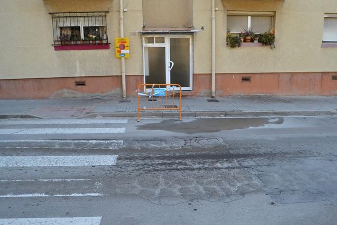 Aquest dilluns comencen les obres de reparació de la calçada del carrer de Granollers del barri de Pomar