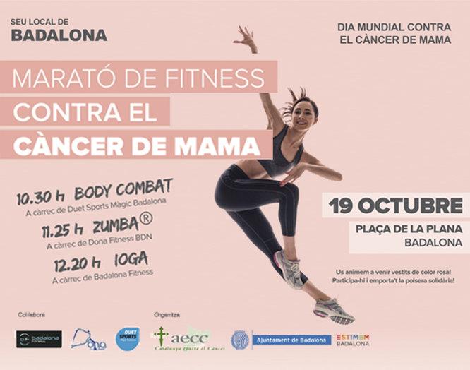 Badalona commemora el Dia Mundial contra el Càncer de Mama amb dos esdeveniments