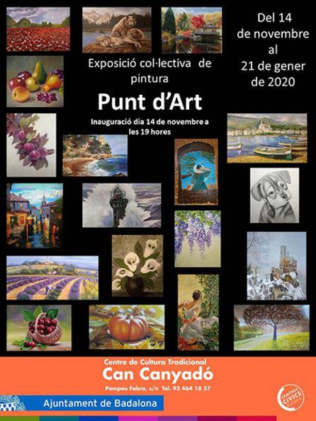 Exposició col·lectiva de pintura 'Punt d'Art'