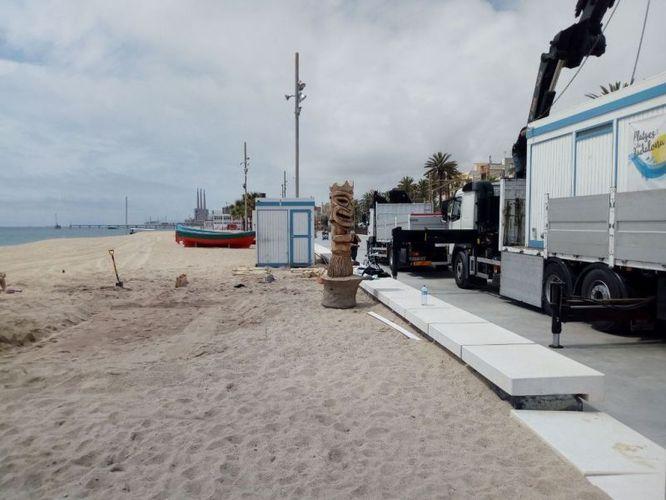 Les guinguetes de les platges de Badalona obriran el dissabte 20 de juny