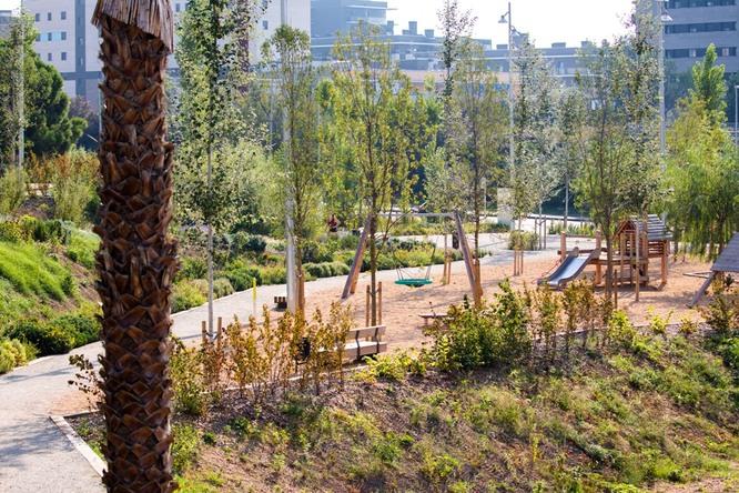 El parc de Can Bada de Badalona ja està obert a la ciutadania