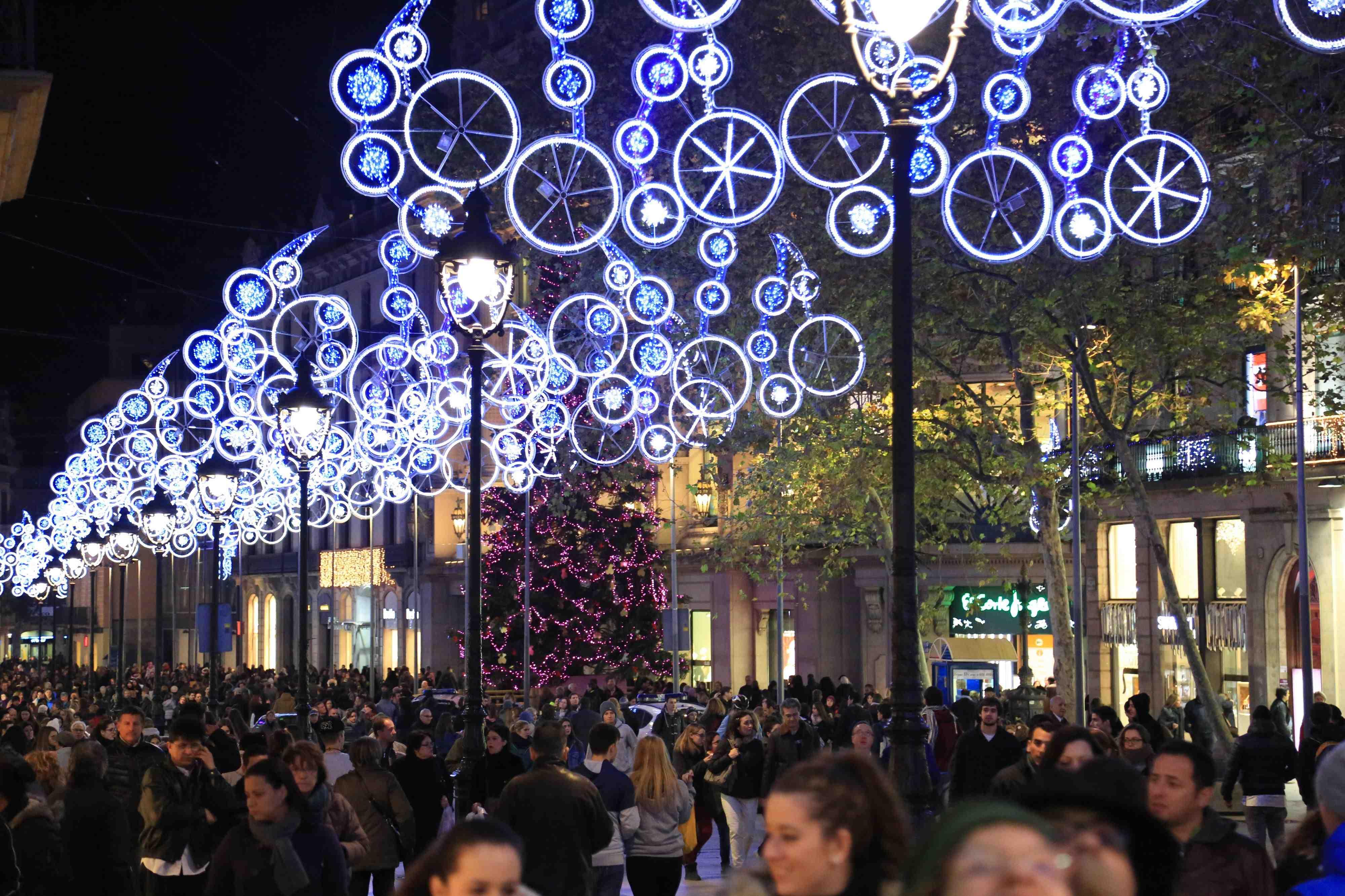 Navidad en Barcelona  Comercio de Barcelona