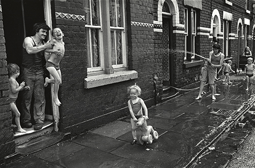 Sunday afternoon, Mozart Street, Granby, Liverpool, 1975 from Survival Programmes_Side Gallery
