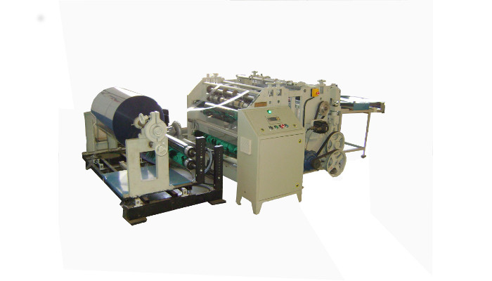 PVC Reel To Sheet Cutting Machine for A4 A3