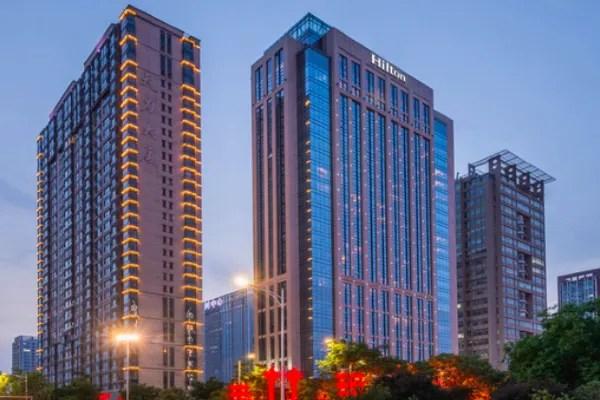 西安高新希爾頓酒店預訂價格,聯系電話位置地址【攜程酒店】