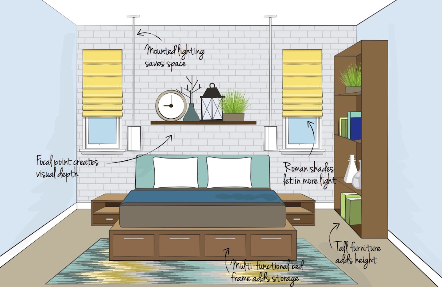 How To Decorate Small Apartments Overstock Com Tips Ideas