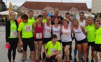 22. Varaždinski polumaraton - ekipa AK Varaždin