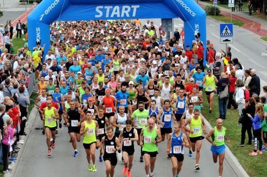 22. Varaždinski polumaraton - start utrke
