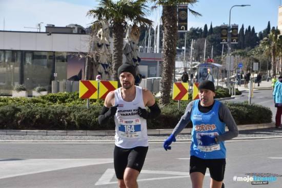 Dinko Solić i legenda hrvatskog trčanja Drago Paripović na 19. Splitskom polumaratonu - 19. Splitski polumaraton