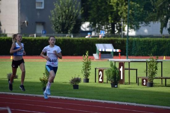 Ana Goričanec na 800 m PH za mlađe kadetkinje
