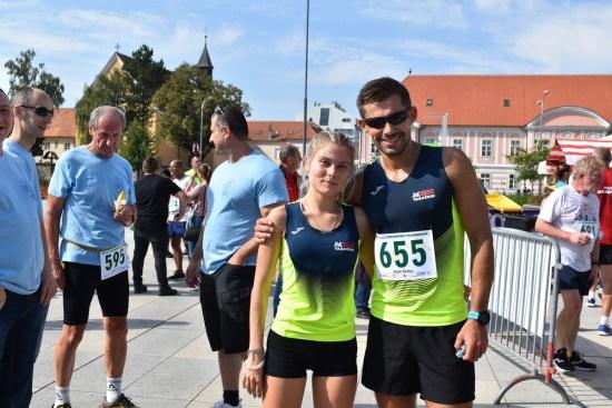 Simona Jambrošić i Dinko Solić - 26. Joma Varaždinski polumaraton