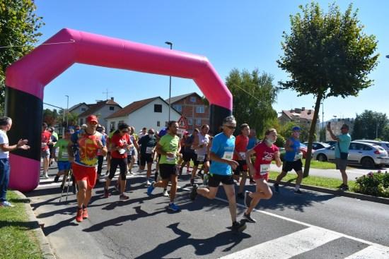 1. brdski maraton Ivanec - Novi Marof - start na 5 km