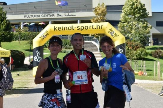 1. brdski maraton Ivanec - Novi Marof - trkači u cilju