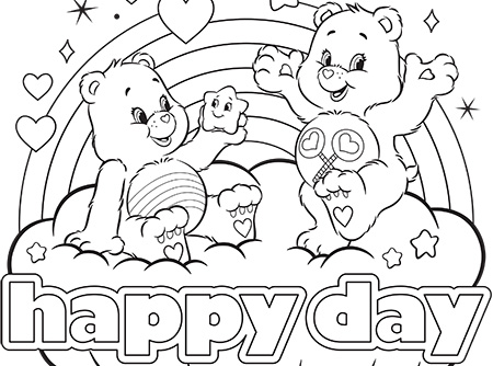 bears coloring pages # 11