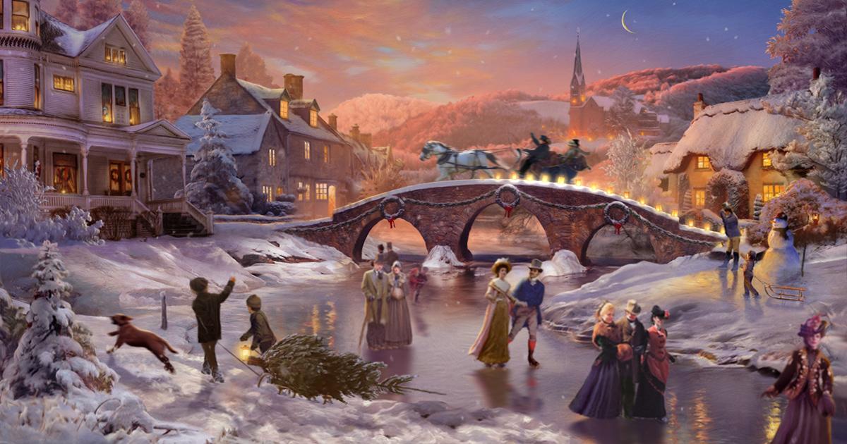 White Christmas Famous Song Interactive Christmas