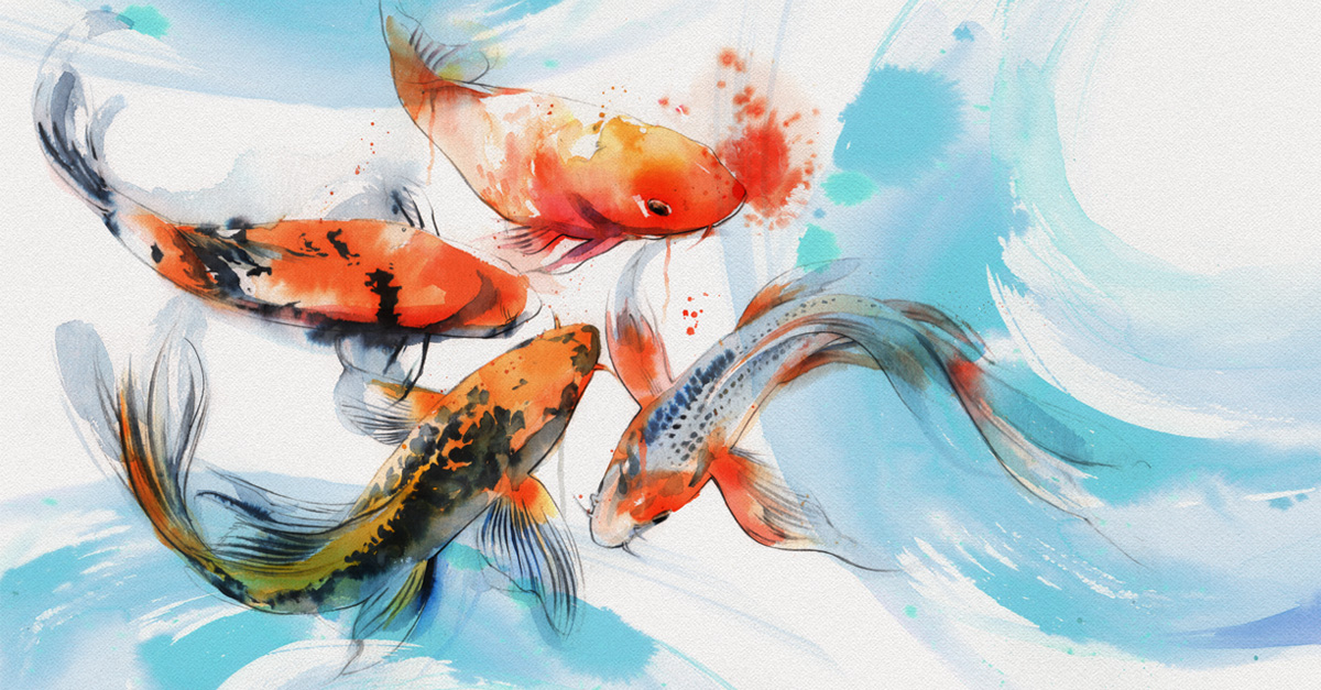 With Sympathy Koi Pond E Card By Jacquie Lawson
